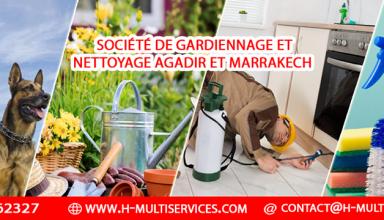 Société de nettoyage et de sécurité Agadir